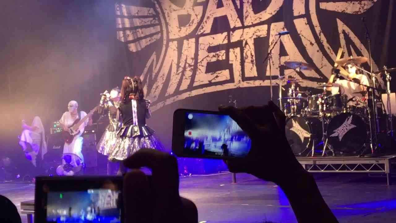 BABYMETAL-FDTD Su-metal's supreme voice 061617 - YouTube