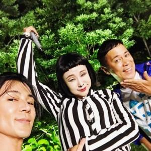 武田真治、鈴木紗理奈&岡村隆史と3ショット 仲間の快挙に「嬉しくて涙出そう」