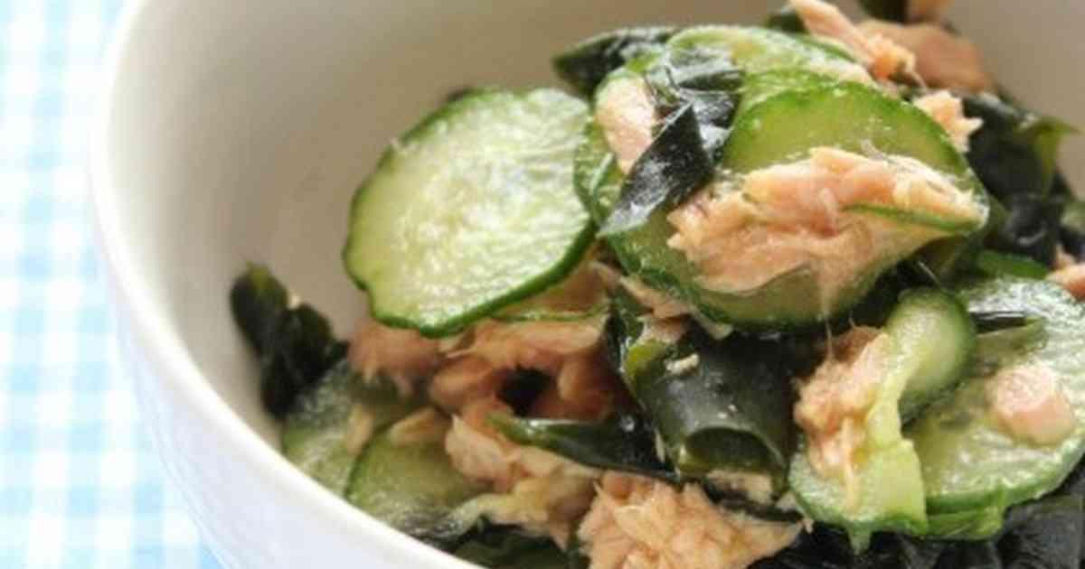 給食の味*きゅうりとわかめとツナの酢の物 by みゆKitchen [クックパッド] 簡単おいしいみんなのレシピが270万品