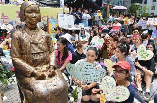 日本政府、「慰安婦記念日」制定の韓国5カ年計画に抗議 - 産経ニュース