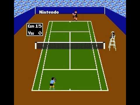 ファミコン テニス Tennis - YouTube