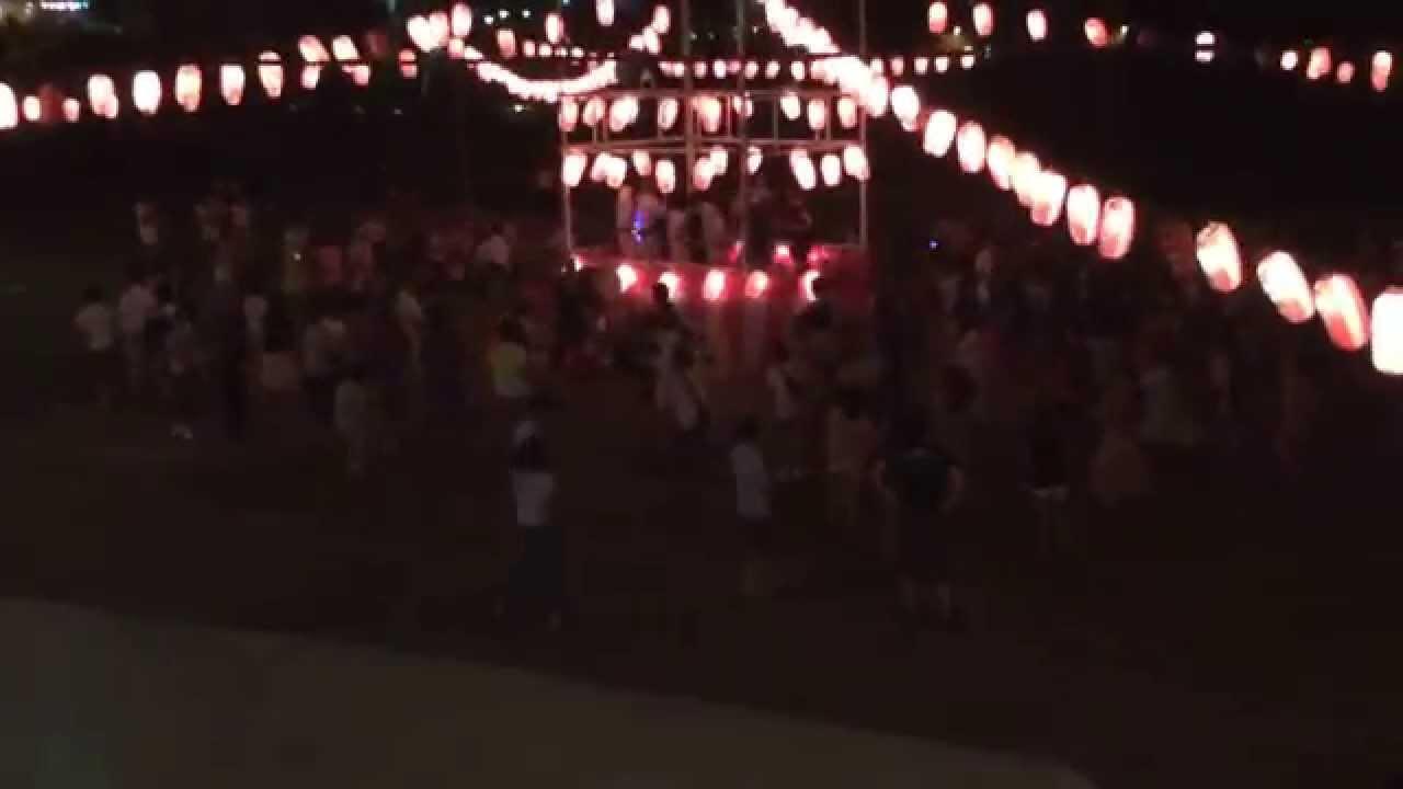 伊豆大島の盆踊りがクラブみたいでヤバい笑 - YouTube