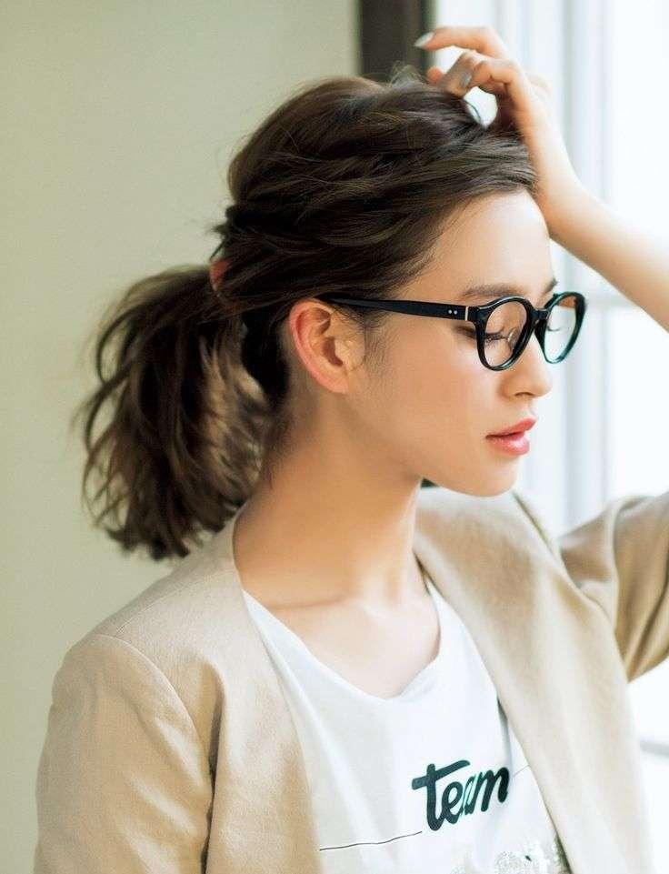 メガネの時のアイメイク