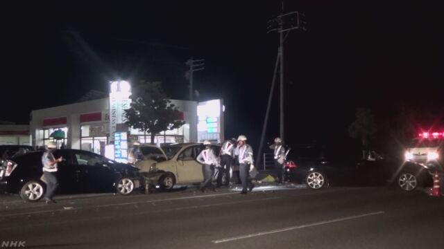 花火見物帰りに交通事故 父親死亡 8歳男児重体 佐賀 | NHKニュース
