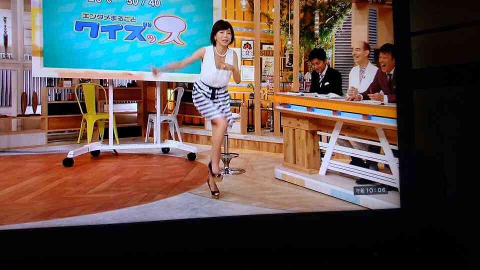 釈由美子のランニングマンにネット騒然「破壊力が…」