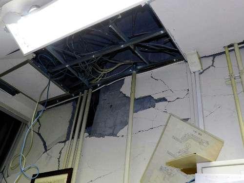 2億円かけ「震度6弱に耐えられる工事」の宿泊施設、震度5強で柱や壁が破損 休業