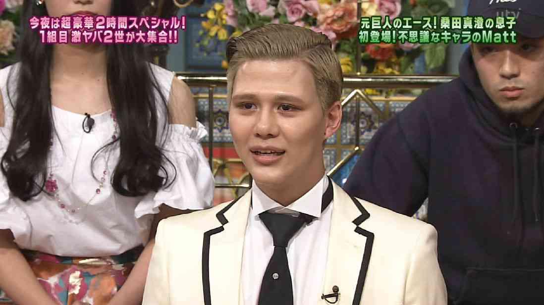 桑田真澄氏の次男モデル告白、「天使になりたくて」2階から飛び降りた