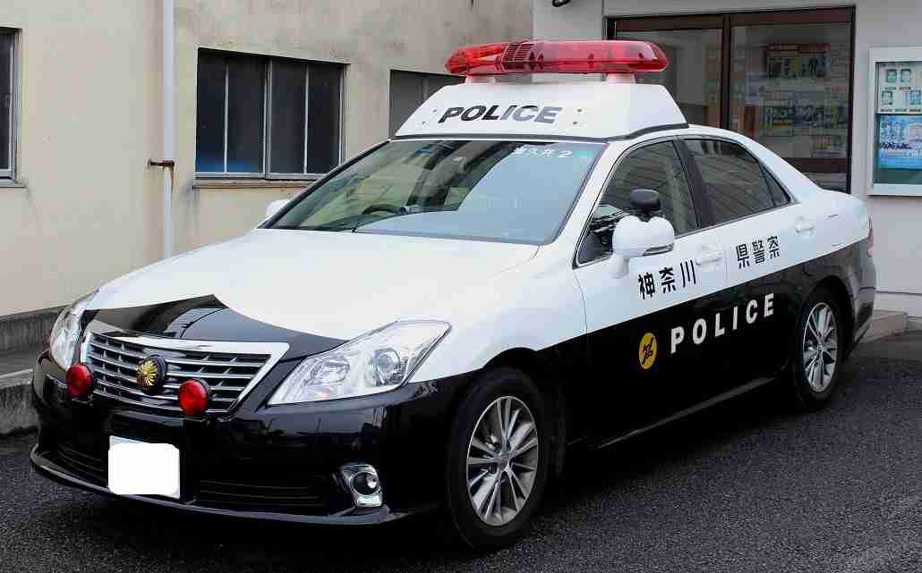 横断歩道を渡っていた女性が神奈川県警の捜査車両にひかれ重傷