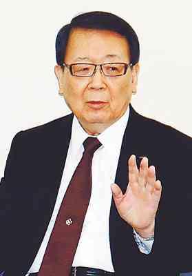 富山生まれ「極力採りません」「閉鎖的な考え方が強いです」 本間不二越会長、会見で持論  (北日本新聞) - Yahoo!ニュース