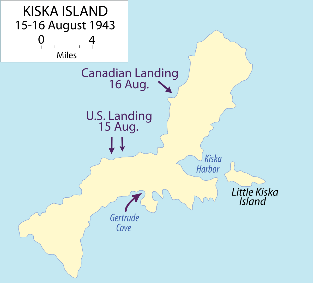 キスカ島撤退作戦 - Wikipedia