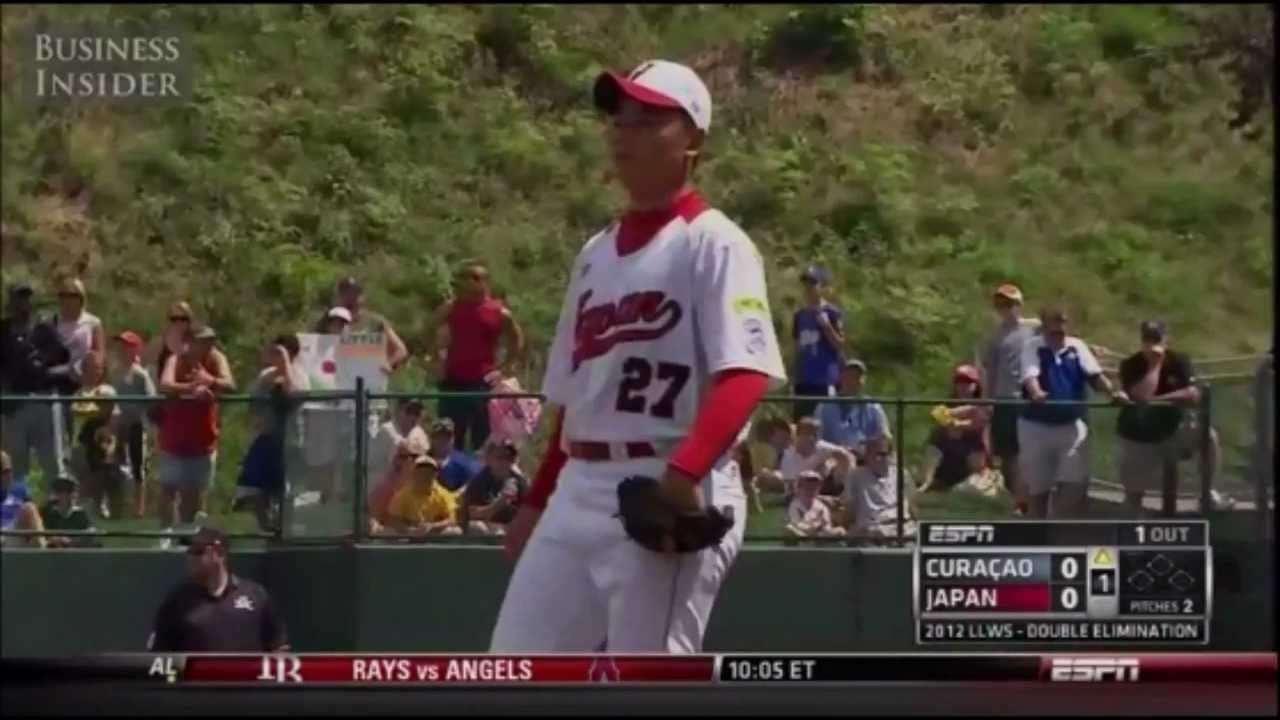 リトルの怪物 清宮幸太郎 13 Year Old Japanese Monster Batting & Pitching - YouTube