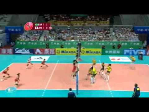 5 SET  JAPAO 3X2 BRASIL FINAL ROUND WORLD GRAND PRIX 2010 - YouTube