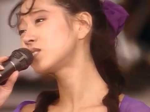 中森明菜「難破船」(1987年オリコン1位・映像は1989年ライブより)