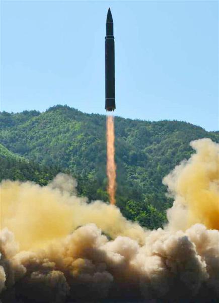 【北ミサイル】来年にもICBM実戦配備 米情報機関が分析 想定の2年前倒しで広がる衝撃 - 産経ニュース