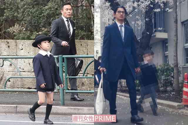 瑛太が息子の小学校入学式に参加 芸能人オーラ隠せず - ライブドアニュース