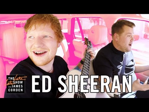 Ed Sheeran Carpool Karaoke - YouTube