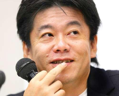 NHK、ホリエモンのヒトラー風Tシャツで謝罪「不快な思いを抱かれた方にはお詫び申し上げます」 : スポーツ報知