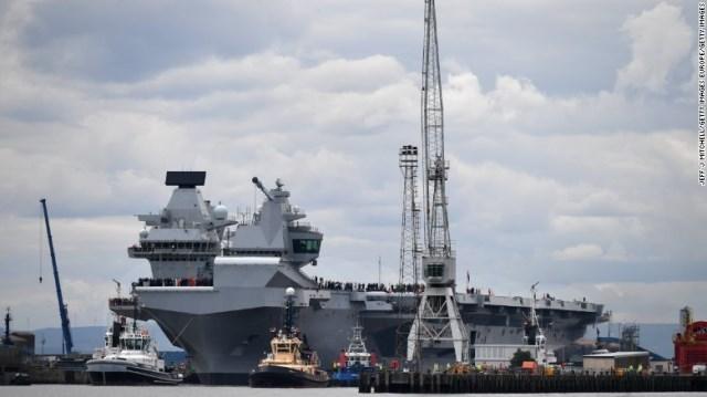 英国、南シナ海に空母派遣の可能性 中国反発 - (1/2)