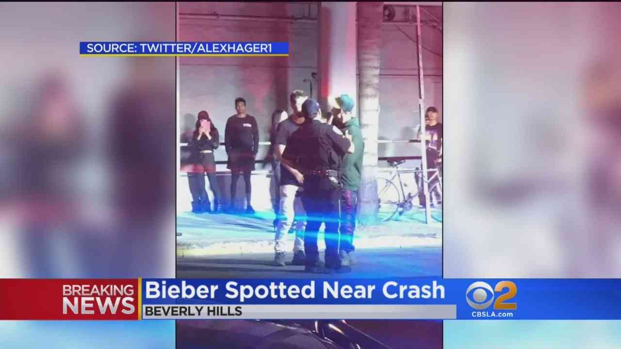 Member Of Paparazzi Involved In Accident With Justin Bieber - YouTube