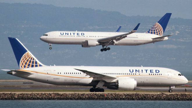 米ユナイテッド航空が新方針「従業員の座席確保は出発の少なくとも1時間前に行う」乗客暴行受け