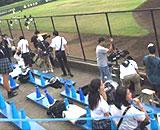 清宮選手を撮影したいマスコミが勝手に相手高校の専用席に浸入か、投稿ツイートに衝撃広がる : 銃とバッジは置いていけ