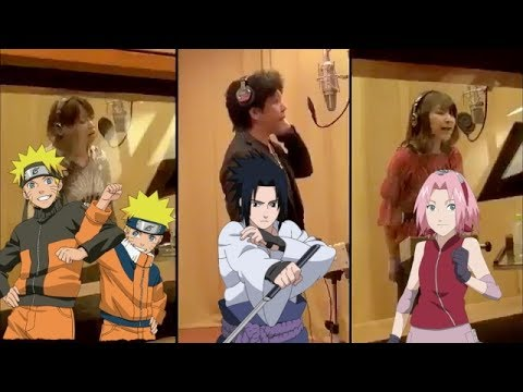 【話題沸騰!!】NARUTO声優陣で歌うFLOW GOが凄すぎて感動すると話題に - YouTube