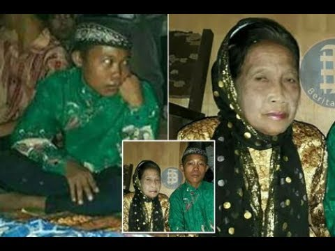 Bizarre: Boy, 16, marries 71 year old woman in Indonesia - YouTube