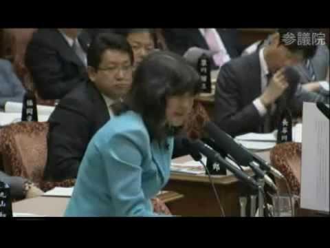蓮舫、スパコン1位を答えられず!片山さつき議員の質問に対し - YouTube