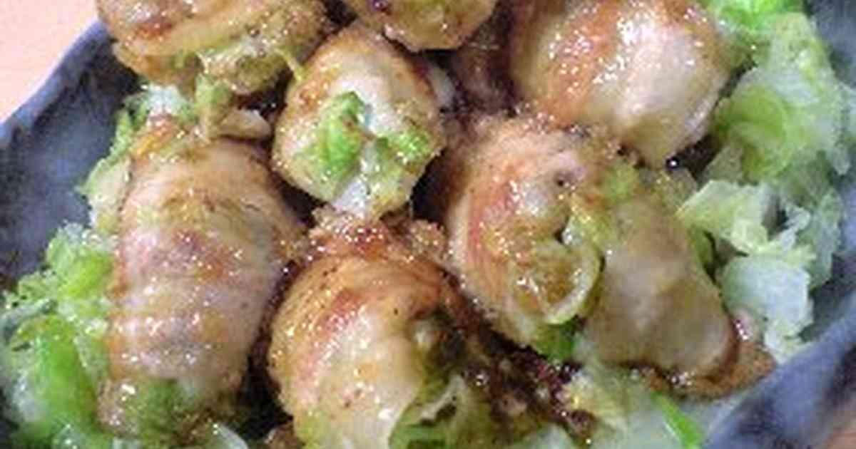 レタス1玉!レタスの肉巻き炒め by yamalu [クックパッド] 簡単おいしいみんなのレシピが270万品