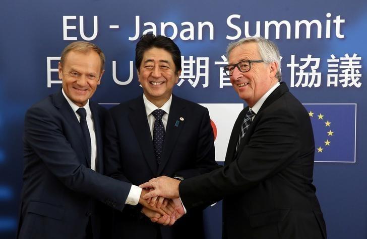 日欧EPA大枠合意、首相「国内対策指示」 関税下げに企業期待 (ロイター) - Yahoo!ニュース