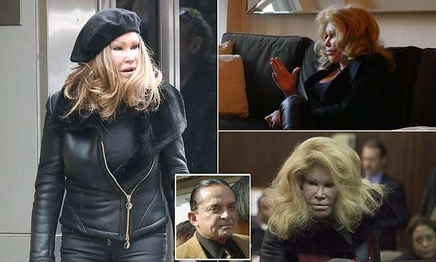 Jocelyn Wildenstein claims she is so broke she can't even afford to buy food | Daily Mail Online