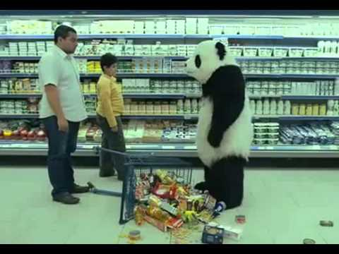 Panda Cheese Grocery Store Commercials - YouTube