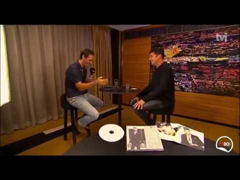 ポルトガルのラジオ番組?のインタビュー(インタビュアーがセクシーなイケメン)