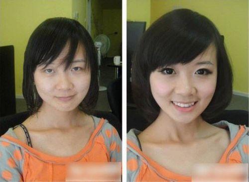 半顔メイクが衝撃的すぎると話題 メイク系YouTuberの間で流行
