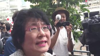 【動画】籠池夫人「安倍の人殺し!私と娘の携帯返せ!家の中の物がない!返せー!何か悪い事しましたか?安倍が悪い!」@安倍首相街頭演説 / 正義の見方
