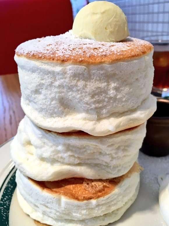 パンケーキ食べていますか?