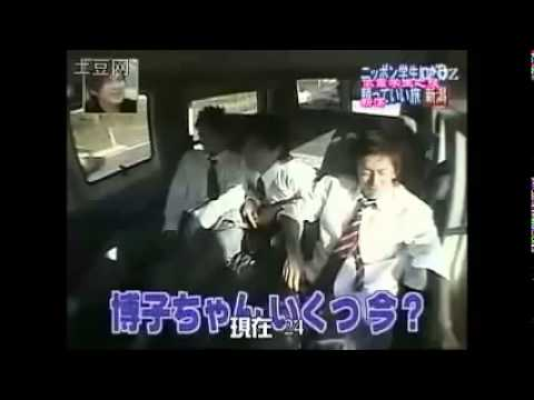 V6 岡田准一、森田剛、三宅健、坂本昌行、井ノ原快彦、長野博 V6 長野博, 車中で女の子になりきりトーク - YouTube