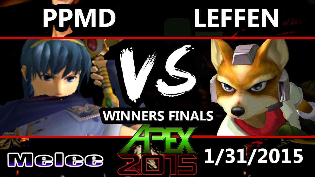 Apex 2015 - Leffen (Fox) Vs. PPMD (Marth) - Winners Finals - SSBM - YouTube