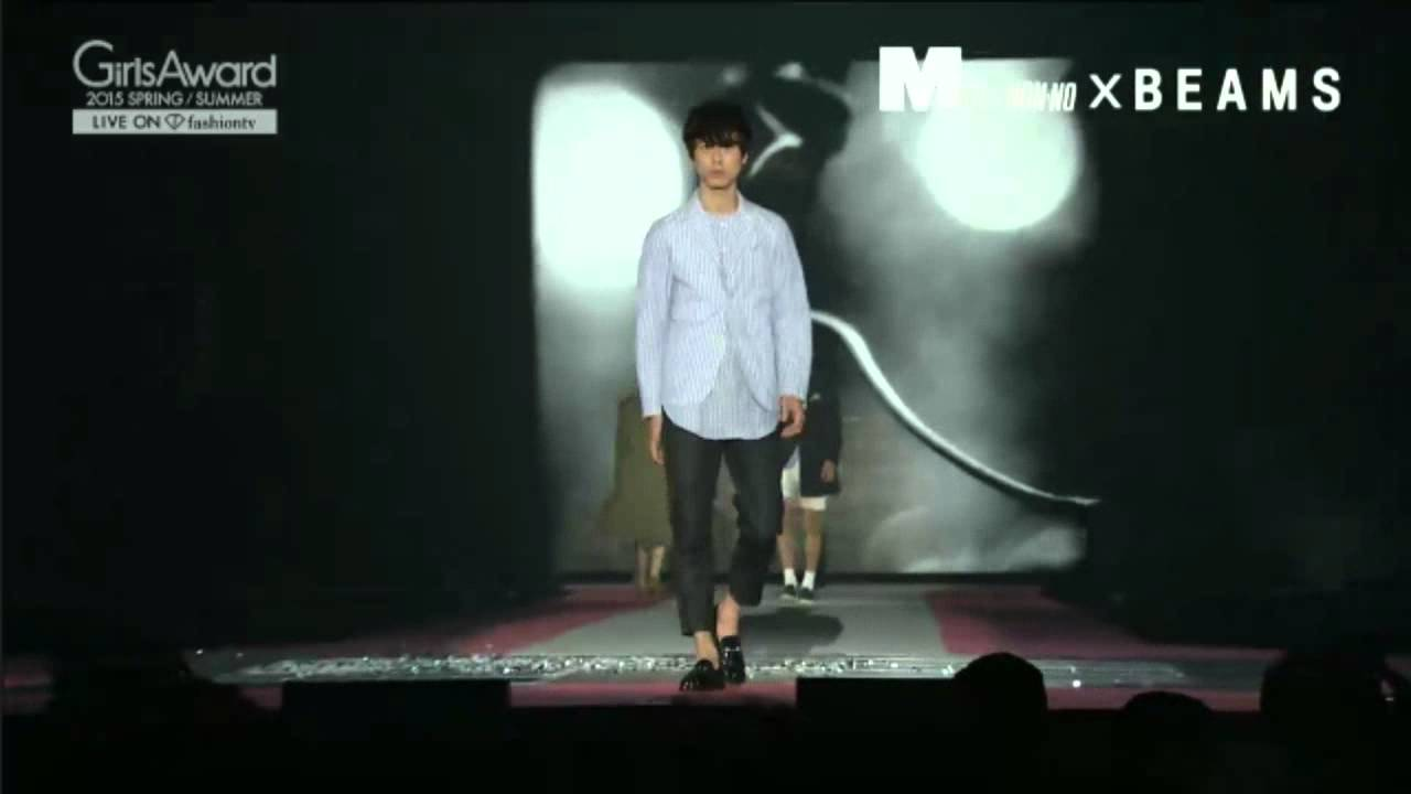 Girls Award 2015 SPRING/SUMMER (MEN'S NON-NO X BEAMS) - YouTube