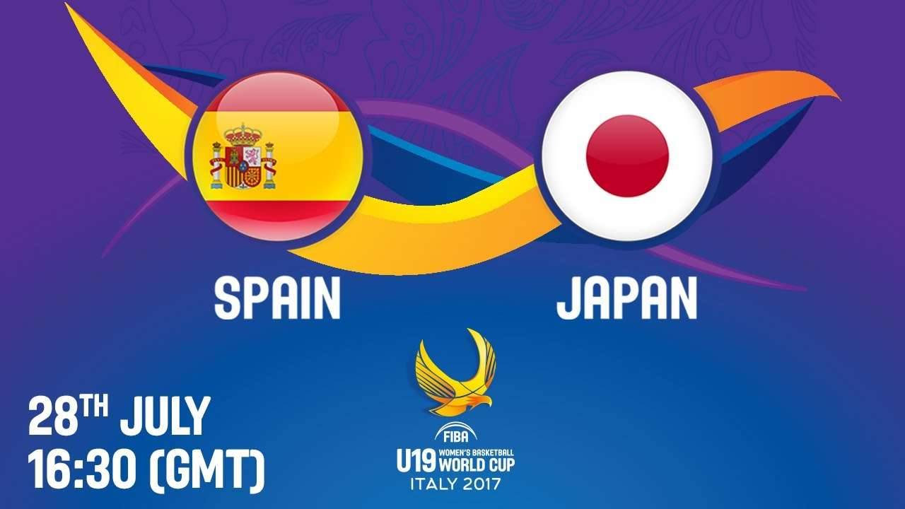 Spain v Japan - Live - Quarter-Final - FIBA U19 Women's Basketball World Cup 2017 - YouTube
