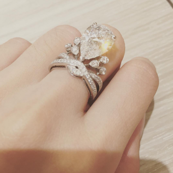 これぞプリンセス 佐々木希、4000万円の指輪とティアラに「身が引き締まります」