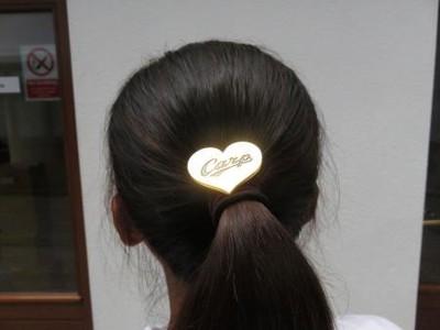 【テニス】二宮真琴、広島カープの髪留めを付けてウィンブルドン快進撃!【画像】