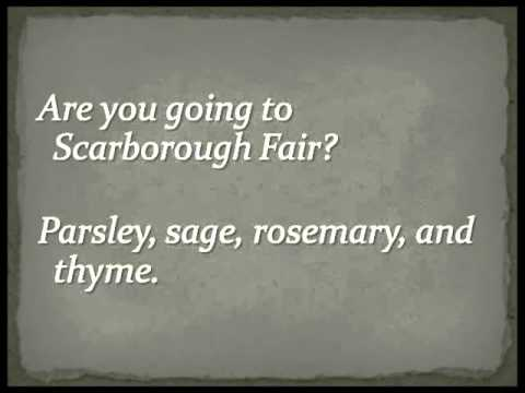 Simon & Garfunkel - Scarborough Fair (Full Version) Lyrics - YouTube