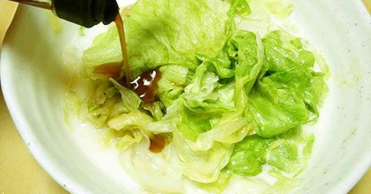 ポン酢でレタスのチーズ蒸し by ポン酢職人nao [クックパッド] 簡単おいしいみんなのレシピが270万品
