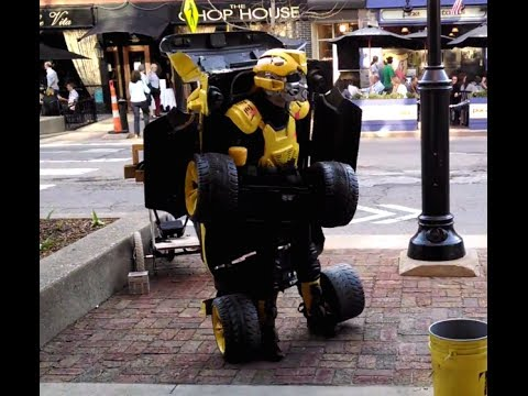 Human Transformer - NOLATron - YouTube