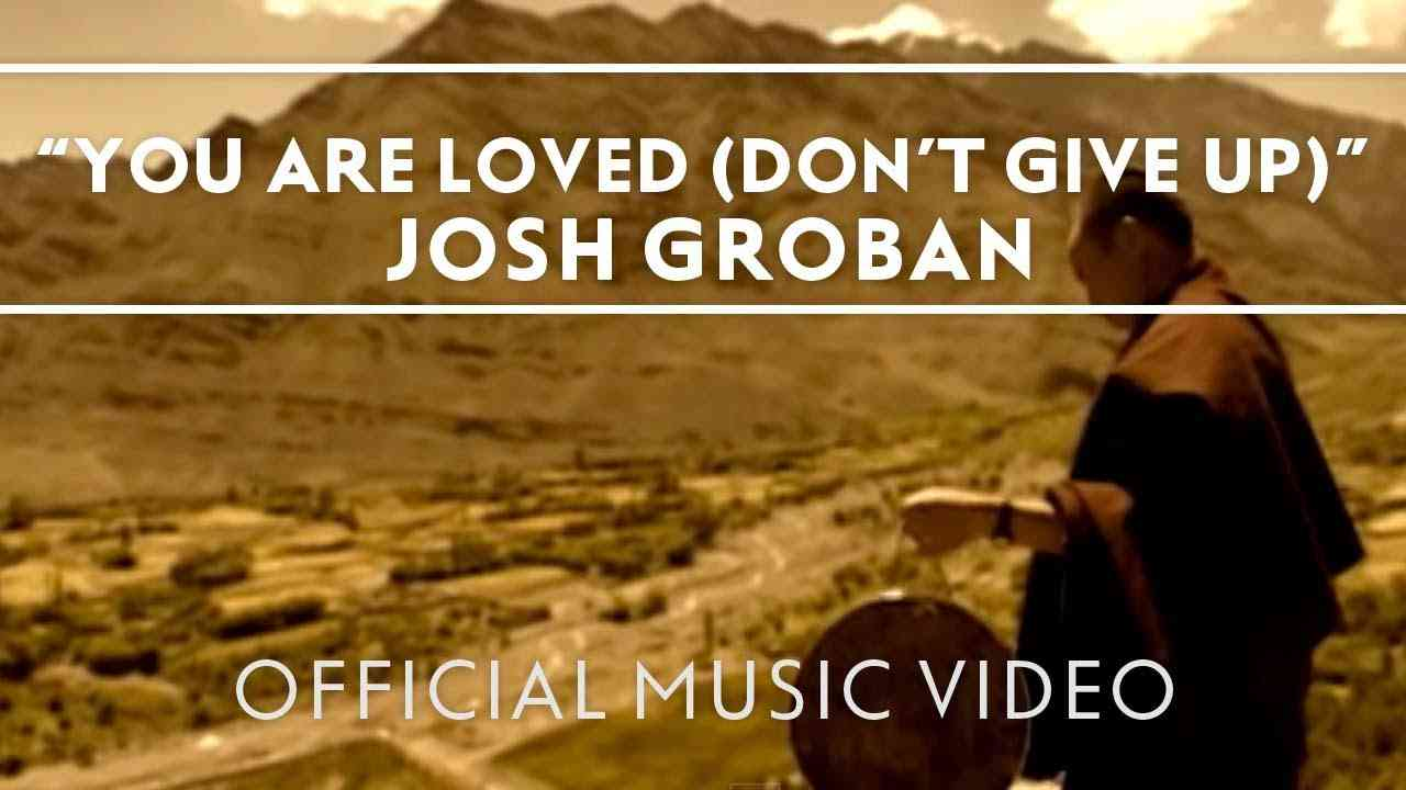 Josh Groban - You Are Loved (Don't Give Up) [Official Music Video] - YouTube
