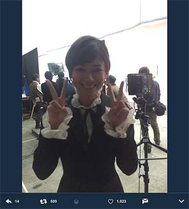 女優・真木よう子がTwitterをスタート 「ワロス」「バルス」「パッチギかますぞ」などフリーダムすぎるツイート - BIGLOBEニュース