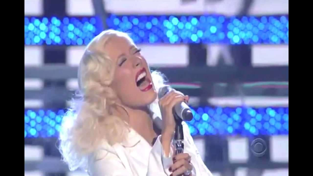 Christina Aguilera - It's A Man's World - James Brown Tribute (Live-Grammy Awards) - YouTube