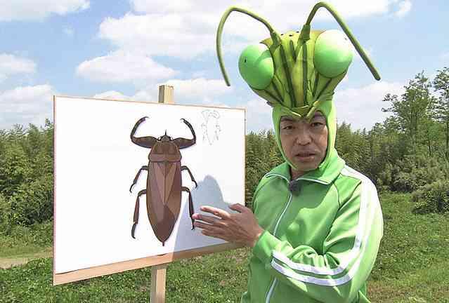 『香川照之の昆虫すごいぜ!』夏休み特別版が決定! NHKに「タガメ捜査一課」設置