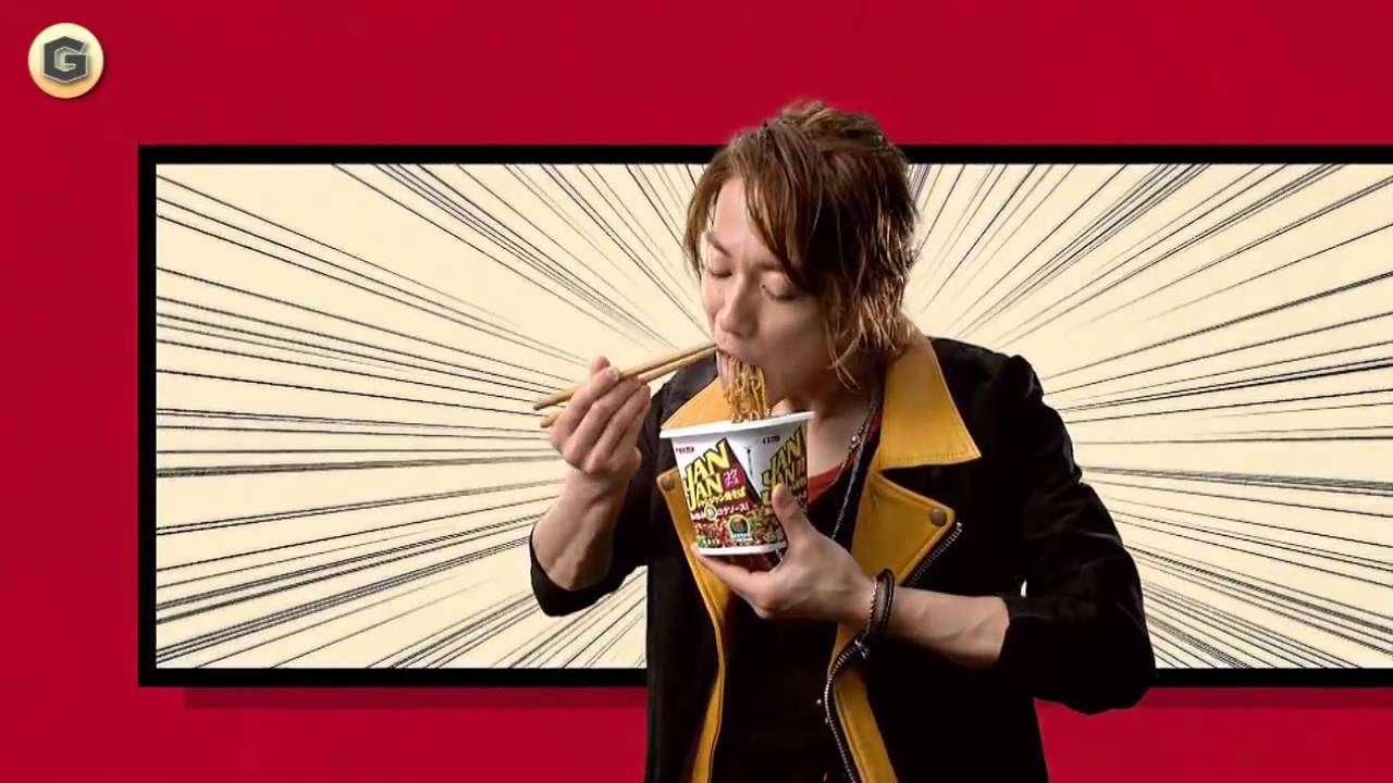 2種 佐藤健 エースコック 焼きそば JANJAN CM 「新スタイル教室」篇 - YouTube